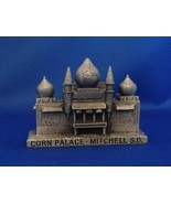 WAPW (Wales Assoc of Pewter Works) Corn Palace, Mitchell S.D Pewter Memento - $19.00