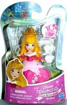 "2015 Hasbro Disney Princess Little Kingdom AURORA SNAP-INS FIGURE 3 1/2"" - $12.06"