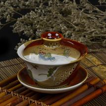 Free shipping Chinese Gaiwan China Teacups Tea Bowl Ceramic tea gaiwan H... - $110.00