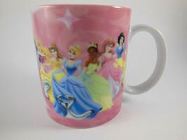 "Disney Princess Cup Coffee Mug with 7of the Disney Princesses 3.5"" tall - $11.87"