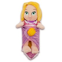 "Disney Parks 10"" Baby Princess Rapunzel Plush Toy With Blanket New With Tag - $26.42"
