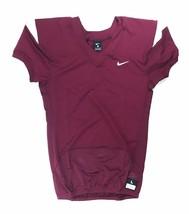 Nike Stock Vapor Pro Football Vented Jersey Men's Large Maroon White 845... - $45.53