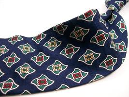 OSCAR de la RENTA Blue Novuveau Mens 100 SILK  Necktie 91-11b - $15.99