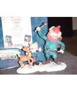 Enesco Rudolph Hermey Yukon Figurine MIB #104872 From 2002 Rare Early Re... - $140.24