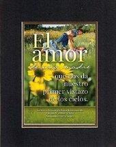 For Mother's Day in Spanish - El amor de una madre que nos da nuestro primer vis - $11.14