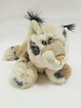 "11"" Aurora Spotted Lynx Bobcat Plush Stuffed Toy  - $14.99"