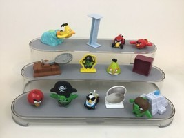 Angry Birds Toy Lot 15pc Launchers Figures McDonalds Red Pigs Cars Video Game C4 - $16.88