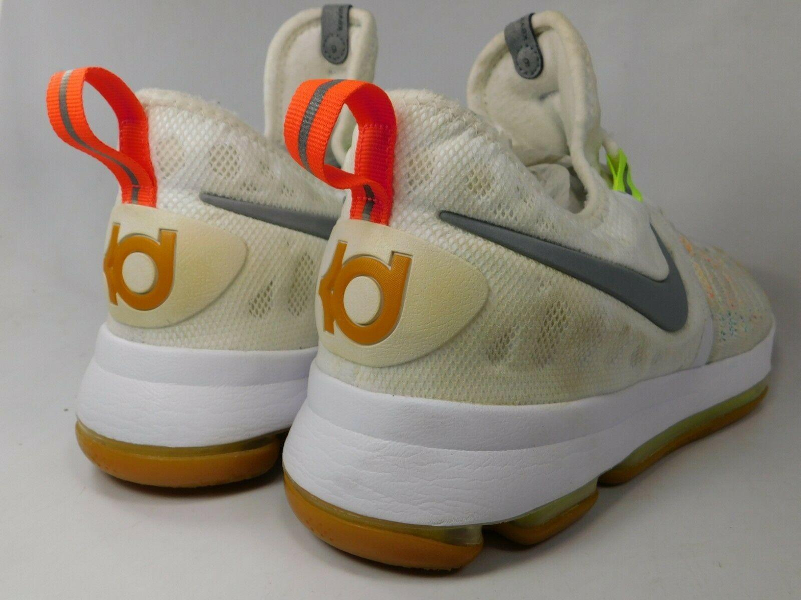 Nike Zoom KD 9 IX Size US 10 M (D) EU 44 Men's Basketball Shoes Multi 843392-900 image 5