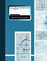 Graph Paper Notebook: Squared Graphing Paper * Blank Quad Ruled * Large ... - $10.63 CAD