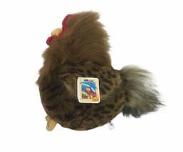 Rooster Bird  Plush Cock a Doodle Doo Aurora A&A Makes Crow Sound - $27.84