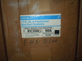 Gould R1C3100G 100A 3ph 3W w/ Ground ITE XL-X Feederiser Breaker Plug En... - $1,450.00