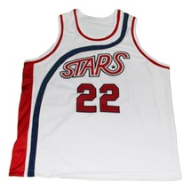 Moses Malone #22 Utah Stars New Men Basketball Jersey White Any Size image 4