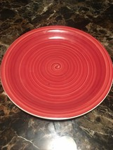 Royal Norfolk Red Mambo Dinner Plate NEW - $4.95
