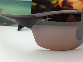 Nuevas Polarizadas Maui Jim Gafas de Sol Sexy Tierra Mj 426-26 Rootbeer Hcl image 7
