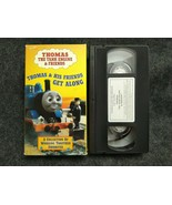 VHS Thomas Tank Engine Friends - Thomas And His Friends Get Along (VHS, 1998) - $19.99
