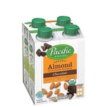 Pacific Foods Organic Almond Non-Dairy Beverage, Chocolate, 8-Ounce, Pac... - $32.85