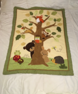 LITTLE FOX and FRIENDS REVERSIBLE BLANKET - $15.00
