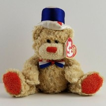 Ty Beanie Baby Independence Red Version 2006 Patriotic America Celebration  - $5.99