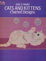 31 Cross Stitch Needlepoint Cats & Kittens Charted Designs Julie Hasler ... - $14.99