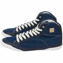 Men Denim Styled Fila Casual Sneaker 3/4 Top Size 8 - $42.21