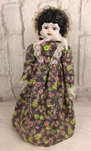 Vintage Dolly Madison Porcelain Doll Collectible - $37.40
