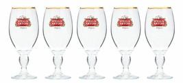 5 Stella Artois Chalice 33CL Beer Glasses w/ 2013 Kentucky Derby 139 Etc... - $29.99