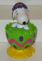 Vintage Whitmans Snoopy PVC figure Hatching out of Egg HTF - $9.50