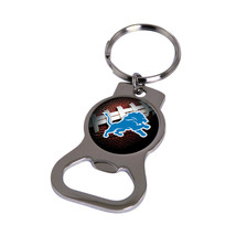 Non Metal Nfl Detroit Lions Bottle Opener Key Ring By Rico Industries (Length=1. - $11.62