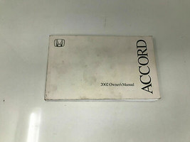 2002 Honda Accord Owners Manual Handbook OEM Z0C036 - $16.79