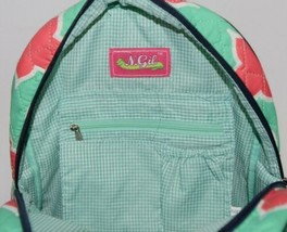 NGIL OTP2828NY Quilted Geometric Pattern Microfiber Backpack image 2