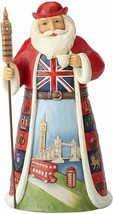 """British Santa from Jim Shore Around the World Collection 7.1"""" High Christmas"""