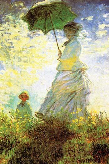 Madame Monet and Son by Claude Monet - Art Print - $19.99 - $179.99