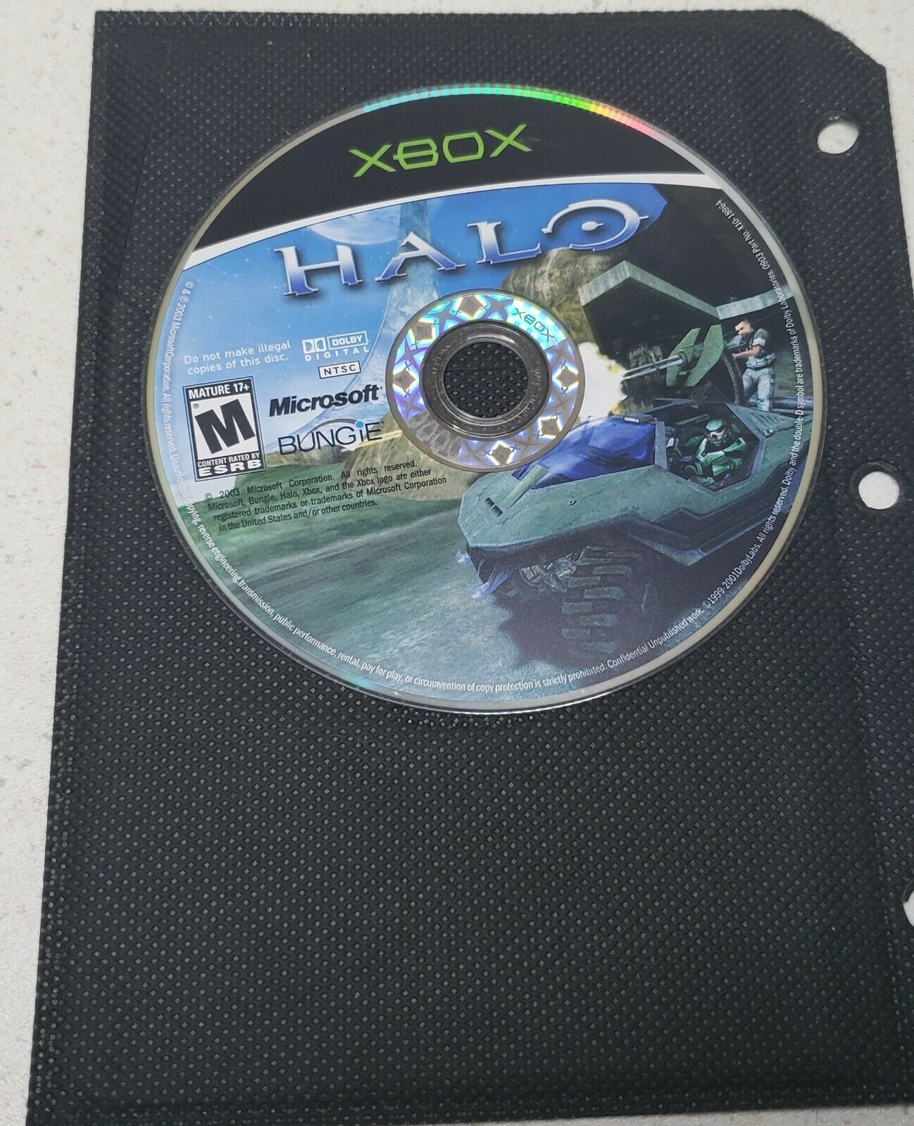 Primary image for Halo: Combat Evolved - Microsoft Xbox, 2003 Game of the year USED, (Disc ONLY)