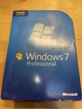 Microsoft Windows 7 Professional 32 & 64 Bit DVD Key Included but May be... - $71.96