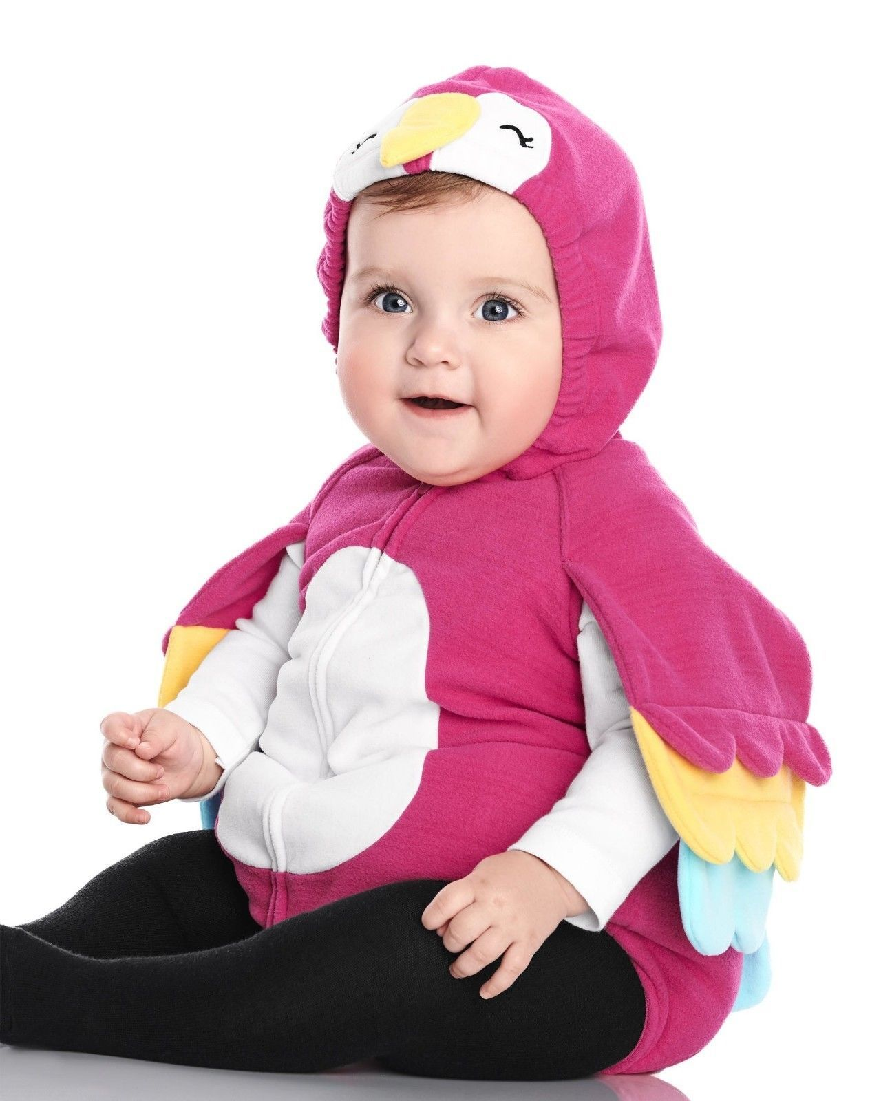 NEW NWT Carters Parrot Halloween Costume Girl Size 12 18 or 24 Months  Fleece