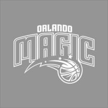 Orlando Magic NBA Team Logo 1Color Vinyl Decal Sticker Car Window Wall - $5.08+