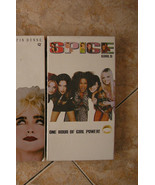 Spice Girls One Hour of Girl Power VHS vintage ... - $9.74