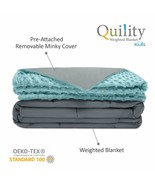 Quility WB-AWB-6072-12LBS Tide  Premium Adult Weighted Blanket & Removab... - $57.21