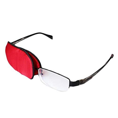 Primary image for Child Silk Glasses Eye Mask Amblyopia Strabismus Lazy Eye Patches-Red
