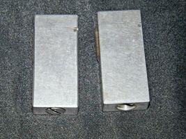 Flint Eaton Decatur Rectangle Lighters AA19-1676 Vintage Two image 6