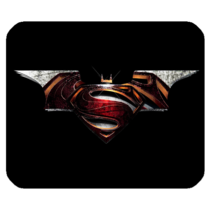 Mouse Pad Batman VS Superman Logo In Elegant Design Superheroes Movie An... - $76,34 MXN