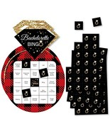 Big Dot of Happiness Flannel Fling Before the Ring - Bar Bingo Cards and... - $14.65