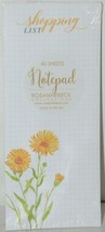 Rosanne Beck Collections 072 0396 Shopping List Dandelion Notepad 40 Sheets image 1