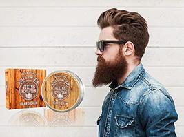 Beard Balm Cedar & Pine Scent w/Argan & Jojoba Oils - Styles, Strengthens & Soft image 8