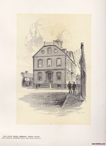 Original Vintage Print of the Old State House i... - $15.99