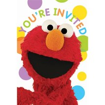 American greetings wrapping paper 2 customer reviews and 207 listings sesame street set of 8 party invitation and thank you note cards quotyou m4hsunfo
