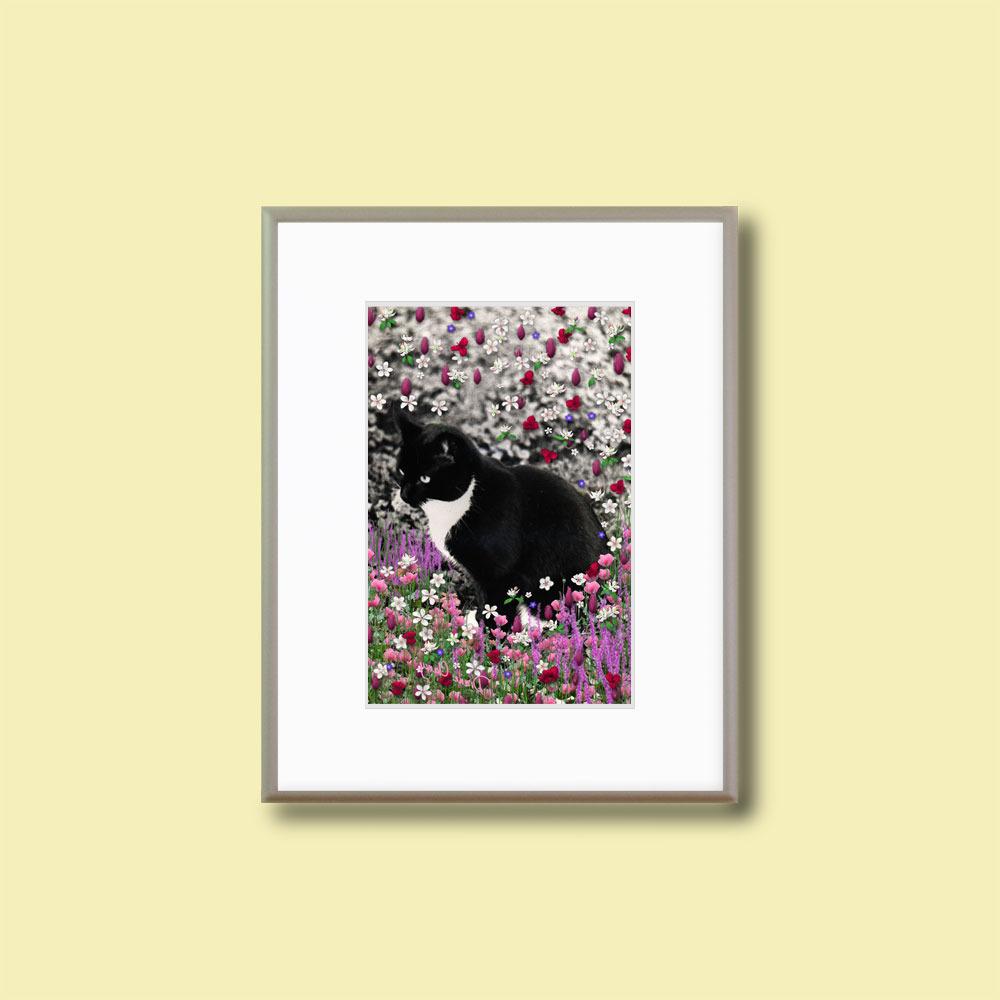"""Freckles in Flowers II - Framed 8x10"""" Fine Art Print"""