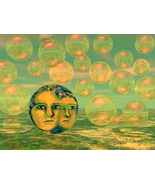 Consciousness - Art Card, ACEO - $7.00