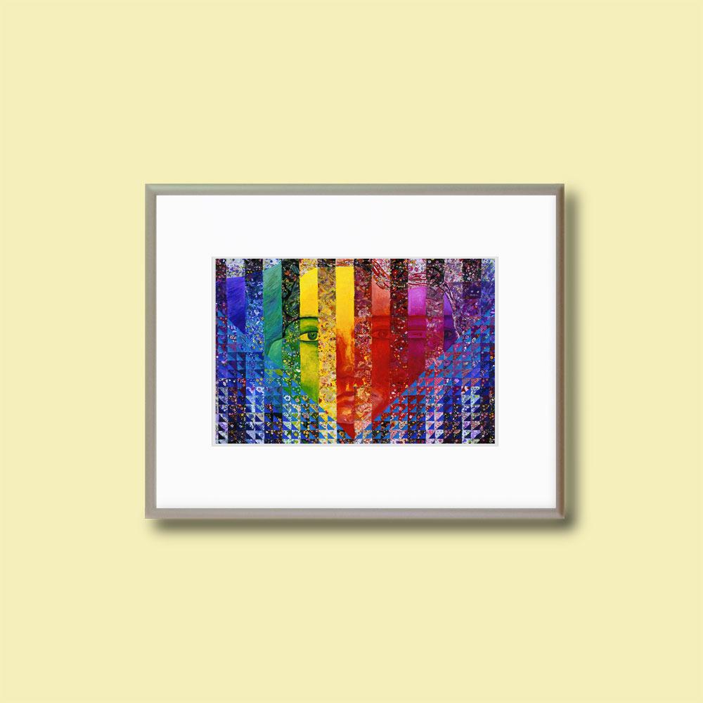 "Conundrum I - 11x14"" Framed Fine Art Print"