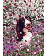 "Lady in Flowers - Matted 8x10"" Fine Art Print - $38.00"